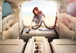 Stray Cheerios beware. The new Honda Odyssey minivan is here - and it has a built-in vacuum cleaner.