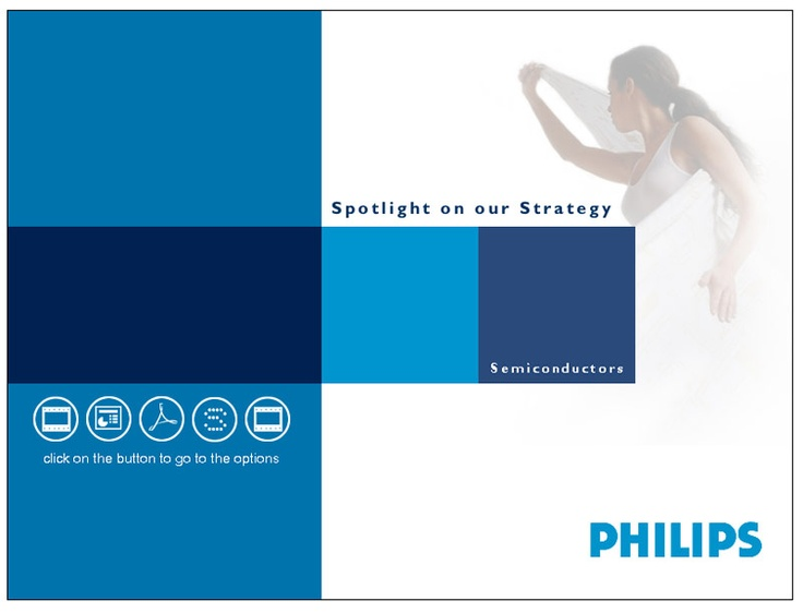 Promotional presention developed for Phillips Semiconductors
