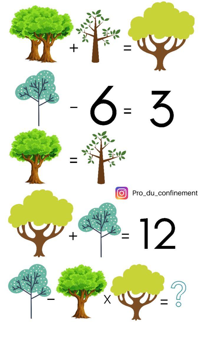 Enigme Math Ecolo Enigme Mathematique Enigmes Defi Maths