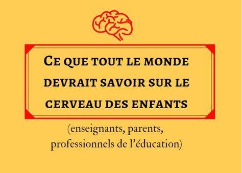 Comprendre le fonctionnement du cerveau des enfants et les mécanismes de l'apprentissage humain, grâce aux neurosciences cognitives