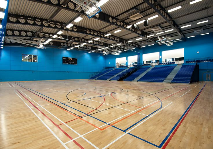 Surrey Sports Park's 3 multipurpose sports halls are