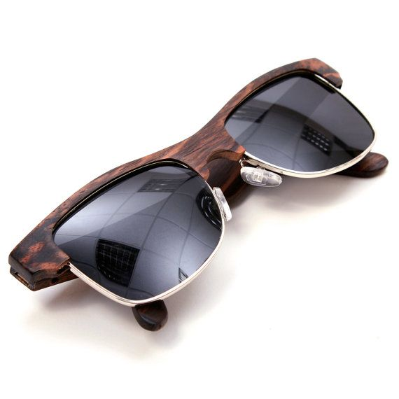 Ebony Wooden Sunglasses by KuonaEyewear on Etsy, £50.00