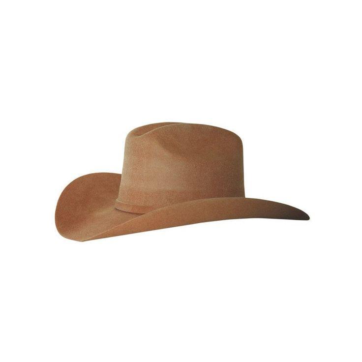 Cappello Lakota western JF Brown in feltro rigido