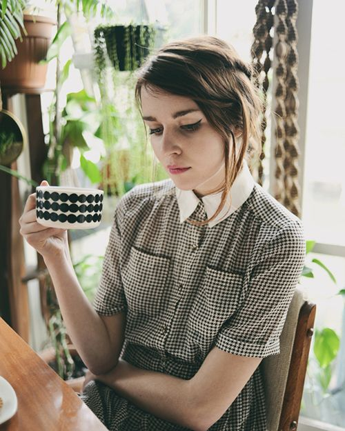 : White Collars, Houses, Fashion, Cat Eye, Houndstooth, Cups, Style, Dresses, Marimekko