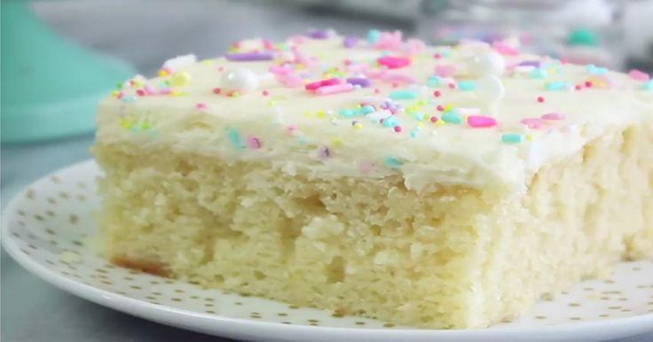 C'est la combinaison d'ingrédients parfaite pour obtenir le gâteau le plus moelleux!