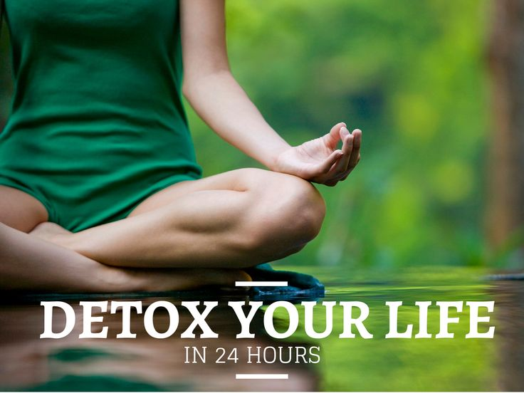 The Natural 24 Hour Detox #detox #cleanse#bodycleansing