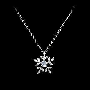 Colier din Argint 925 cu cristale cubic zirconia Ice Touch