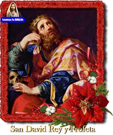 Leamos la BIBLIA: San David Rey y Profeta