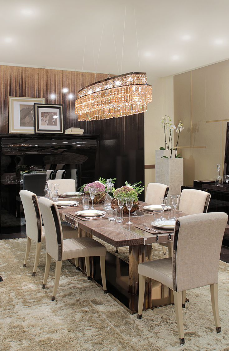 Dining Room Design By Fendicasa At I Saloni Worldwide
