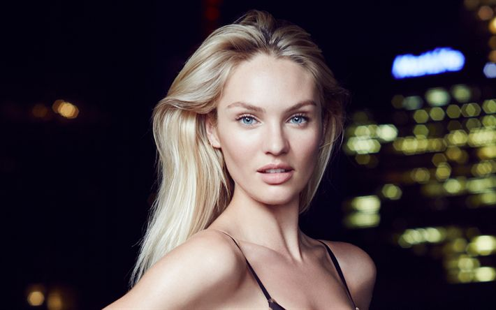 Download wallpapers Candice Swanepoel, 2018, supermodels, beauty, blonde, portrait