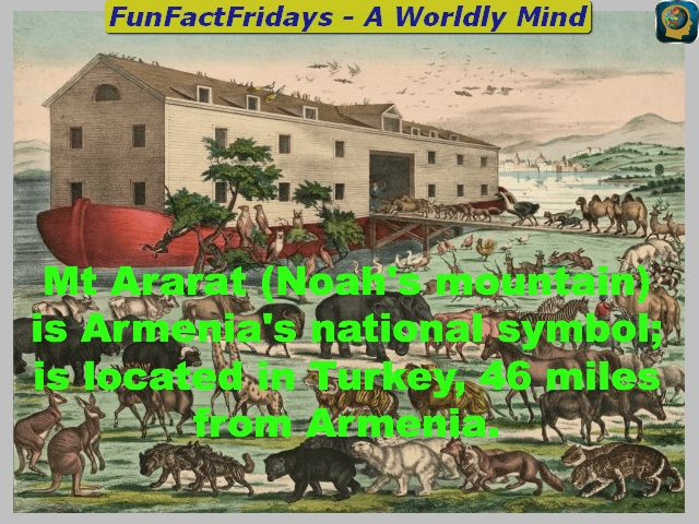 FunFactFridays - #FF- Follow us for Daily #Geography #Trivia #educhat