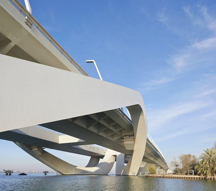 Zaha Hadid Architects, Hufton + Crow, Michele Nastasi · Sheikh Zayed Bridge
