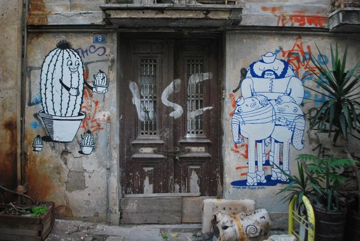 ANTIO'S street art in Athens - The Greek Foundation