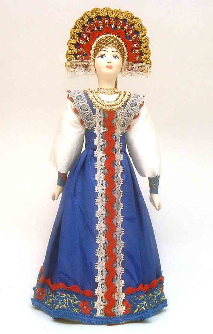 best russian culture images russian culture russian maiden in traditional blue costume