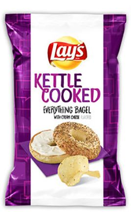 New Lays Chip Flavor Everything Bagel Potato Chips
