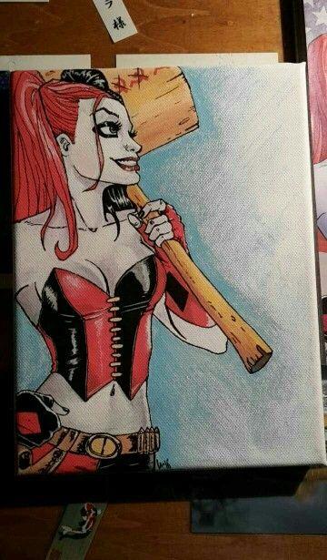 Harley Quinn selon le comics, by Akiko
