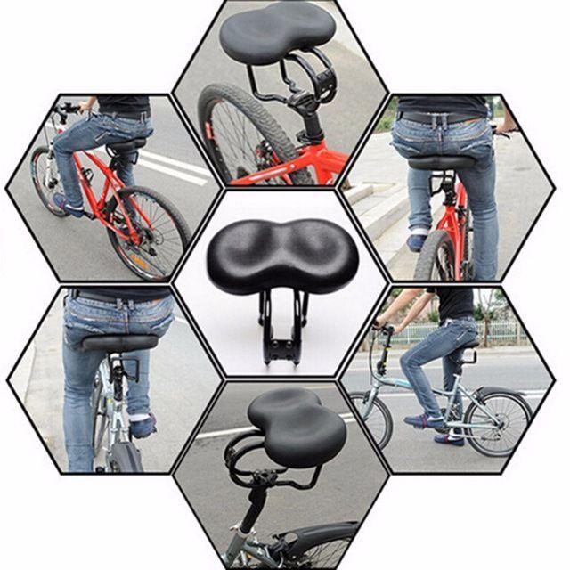 Nueva t MTB de Montaña Ciclismo Antideslizante Cubierta Sillín de bicicleta accesorios para bicicletas silla de ancho extra grandes cojines bicicleta de mar