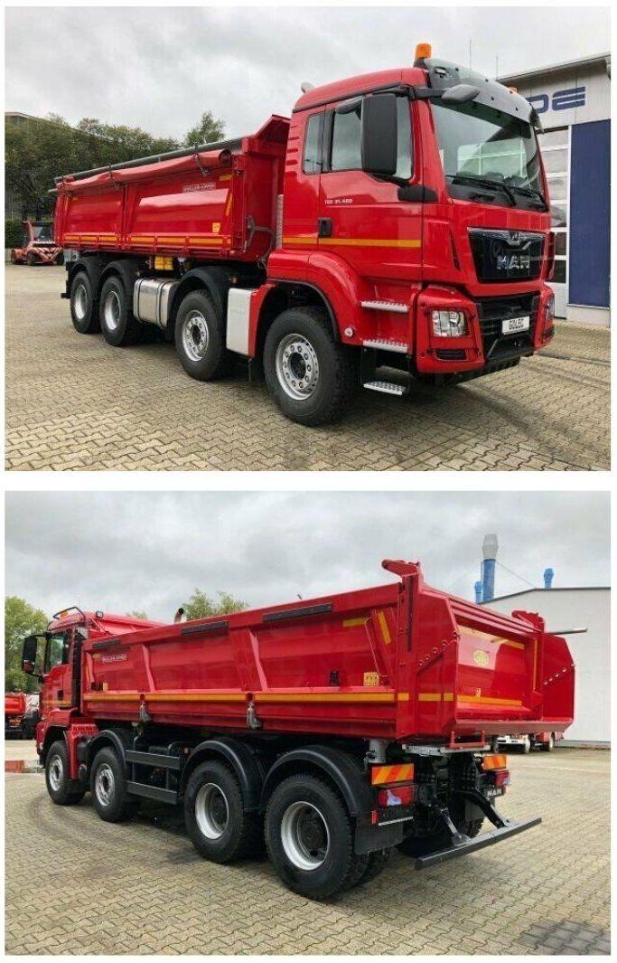 Man Tgs 35 460 8x4 Commercial Vehicle Man Trucks