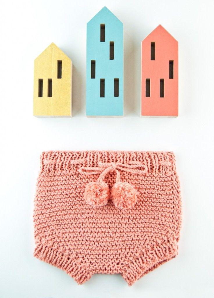 baby bloomers knitting pattern