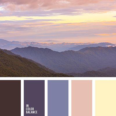 amarillo pálido, color cielo al atardecer, colores de la puesta del sol rosada, de color violeta, marrón, matices de color ocaso, naranja rosado, puesta del sol rosada, tonos rosados de puesta del sol, tonos violetas.