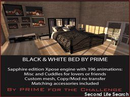 PrimBay - B&W Bedroom Sapphire edition by PRIME
