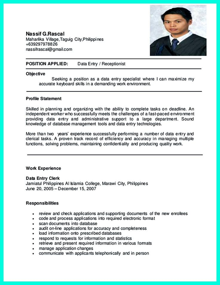 2695 best resume sample template and format images on