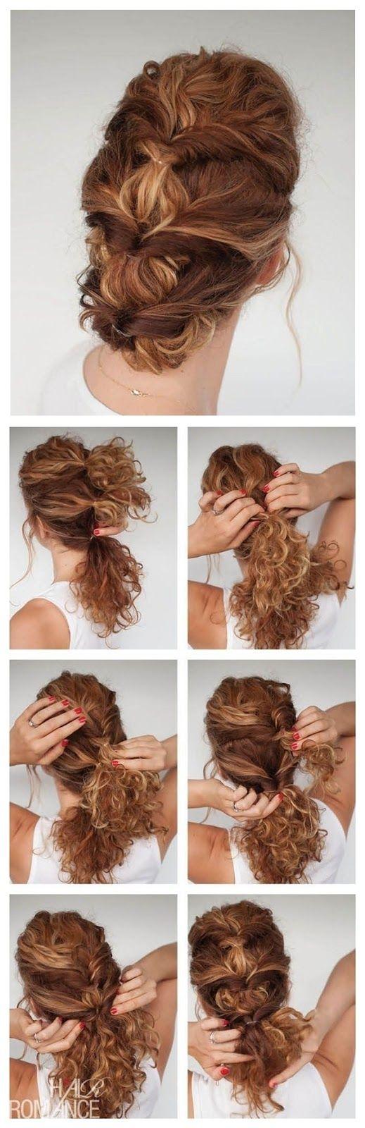Dicas da Fê : 7 Penteados Incríveis e Estilosos para Cabelos Cacheados