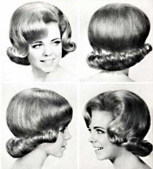 Photo coiffure annee 60 coiffures la mode de la saison - Coiffure annee 60 ...