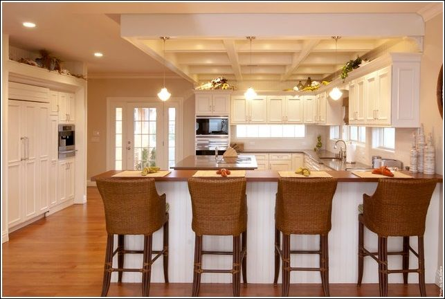 Eating area Eat in kitchen designs