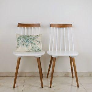 Vemos el paso a paso completo de cómo podemos cambiar el aspecto de estas sillas y darles una segunda oportunidad.