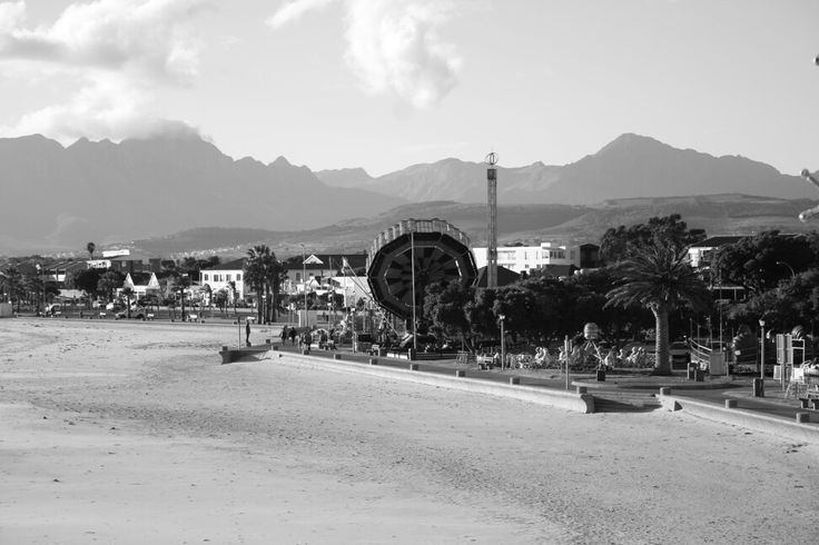 After the dust settles and winterwonderland over the quiet town of gordons bay returns...