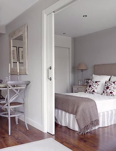 small rooms with sliding doors, space saving interior design ideas