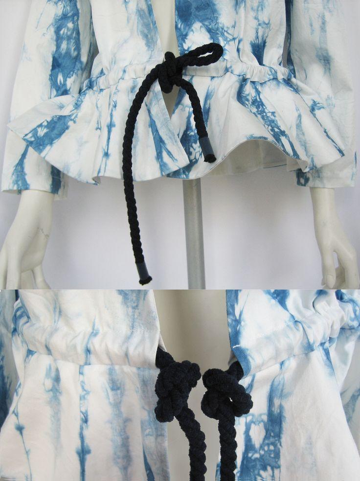 Hand Dyed Jacket by Fibula - buy online at Designrs.co