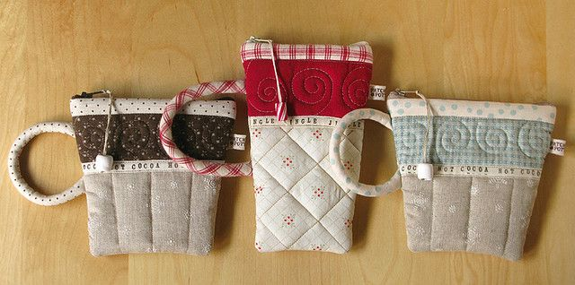 Christmas Pouches | by PatchworkPottery