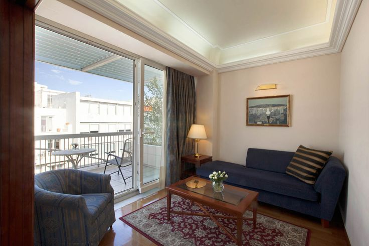 eaturing separate sleeping and sitting rooms and a balcony overlooking Syntagma square and Lycabettus Hill, our elegant suites are designed to provide you with everything you need to feel at home.