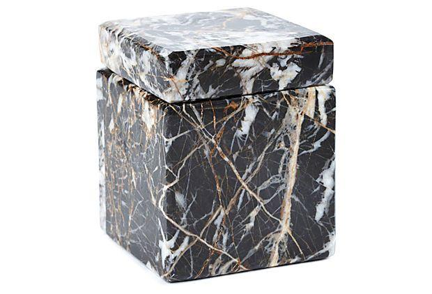 4x3 Black Onyx Keepsake Box