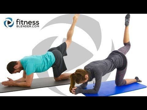 62 min. Pilates Abs, Butt and Thigh Workout - Pilates Workout for Lower Body & Core | Fitness Blender