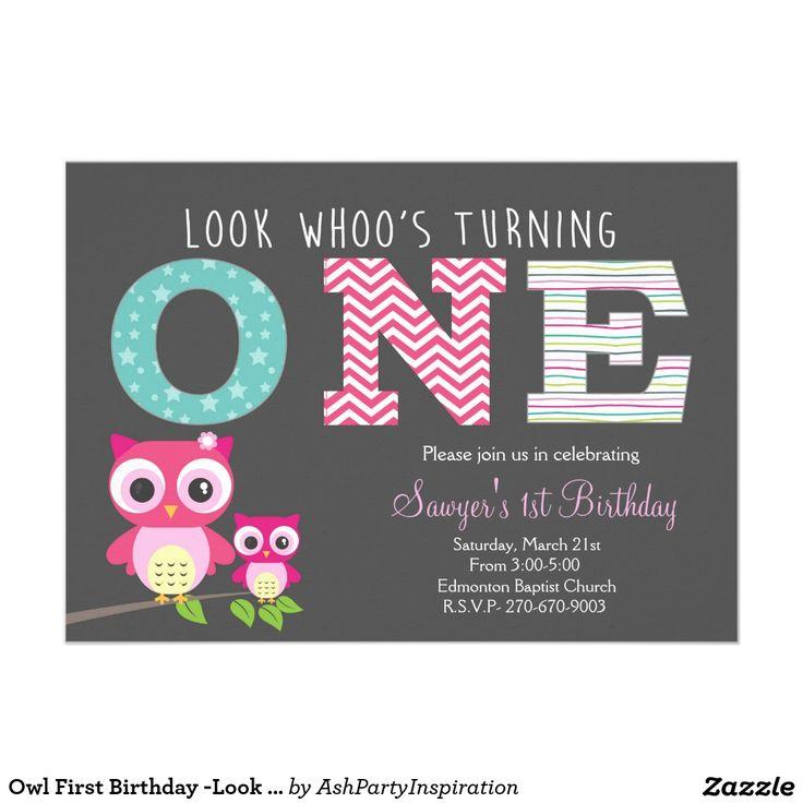 Best 25+ Owl First Birthday Ideas On Pinterest