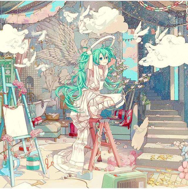Hatsune Miku in dream land