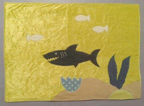Shark pillow sham for Adam