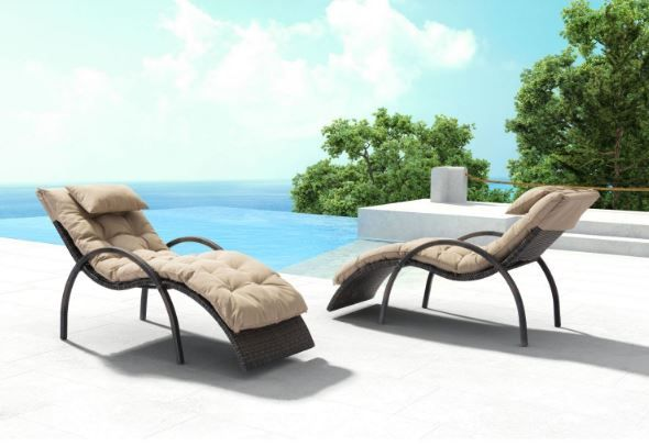Owing to its exceptional shape, the Eggertz Beach Chaise Lounge set molds itself to your body. You can simply glide in and out of it!  https://www.barcelona-designs.com/products/eggertz-beach-chaise-lounge-brn-beige?utm_content=bufferccece&utm_medium=social&utm_source=pinterest.com&utm_campaign=buffer #outdoordecor #patioset #homedecor #midcentury #interiordesign