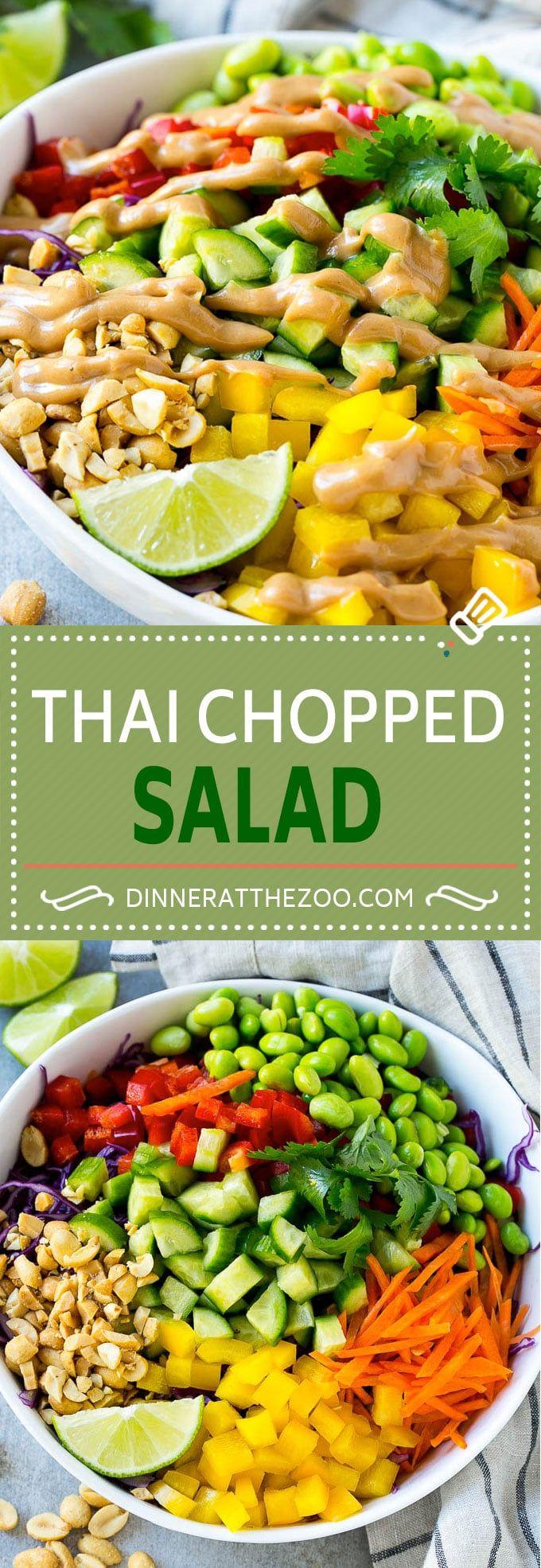 Thai Chopped Salad Recipe