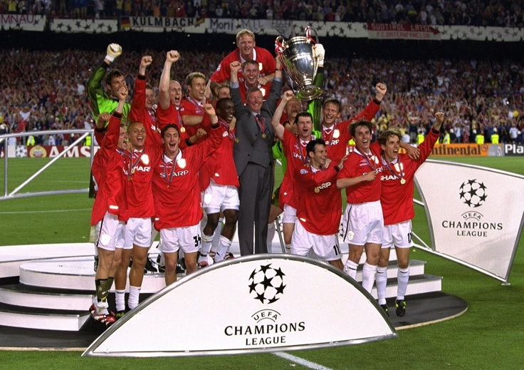United 2-1 Bayern Munich, 26th May 1999 – Click 'Like' if you think this was the most dramatic final ever… #ManUtd