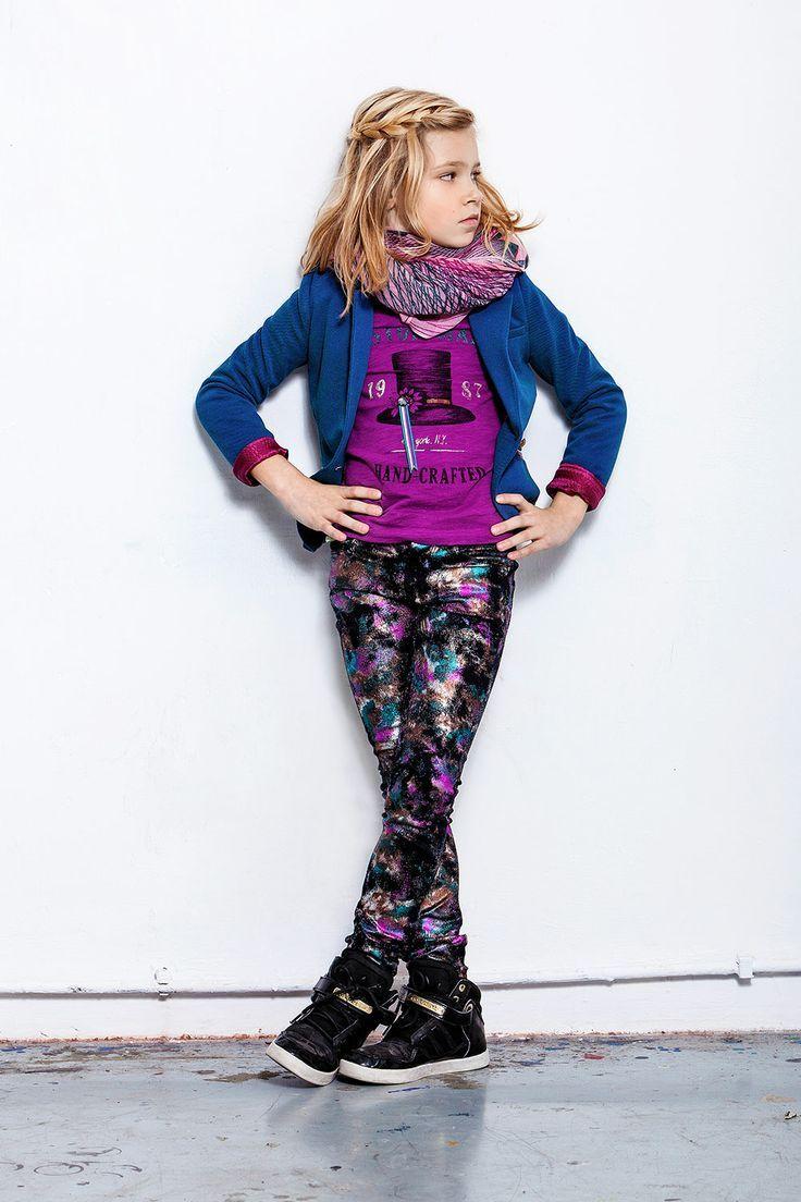 Kidsclothes CKS Meisjes Broek Twilight Stardust | Love the jeans Slim Fit | www.kienk.nl online kinderkleding