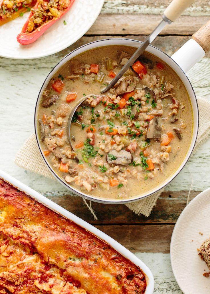 Vegetarian Dinner Party Menu Ideas Part - 15: A Make-Ahead Vegetarian Dinner Party From Ina Garten