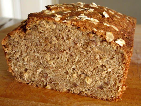 Applesauce Oatmeal Bread cut