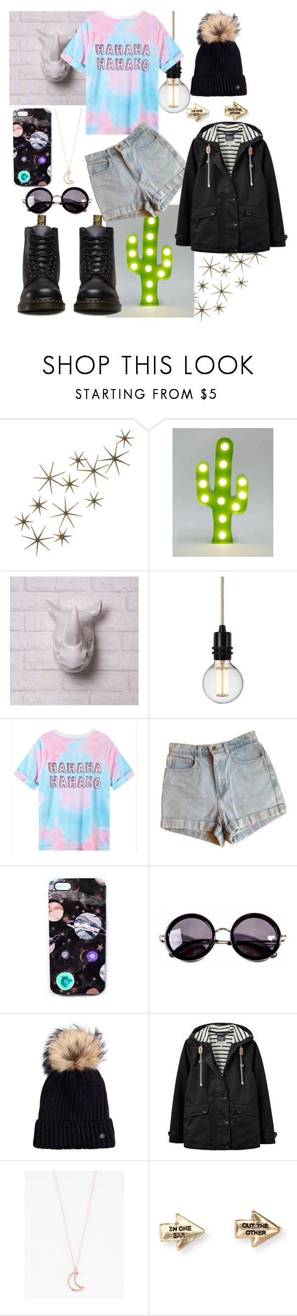 """How bout NOOOOO"" by blackzeal ❤ liked on Polyvore featuring Global Views, Sass & Belle, American Apparel, Nikki Strange, Linda Farrow, Bogner, Joules, Full Tilt, Aéropostale and Dr. Martens"