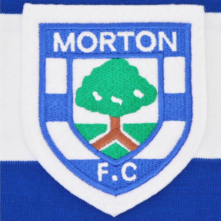 Greenock Morton 1969-1971 Retro Football Shirt - TOFFS