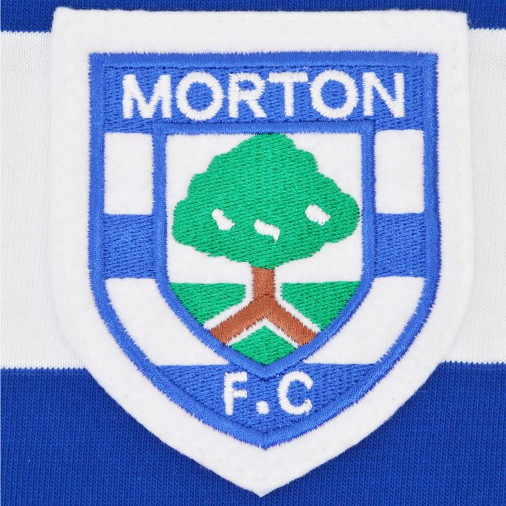 Greenock Morton 1969-1971 Retro Football Shirt - TOFFS