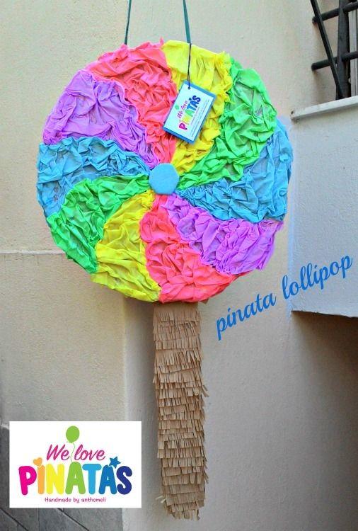 pinata lollipop, πινιάτα γλυφιτζούριΠινιάτες οι αγαπημένες! (updated!) - Anthomeli